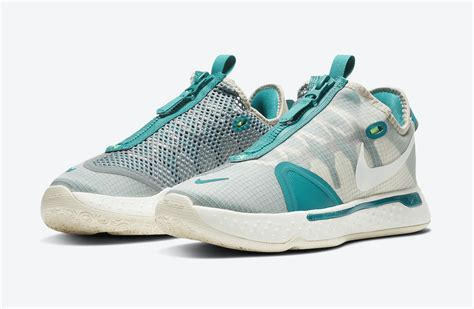 nike pg  pcg teal white cz  release date info