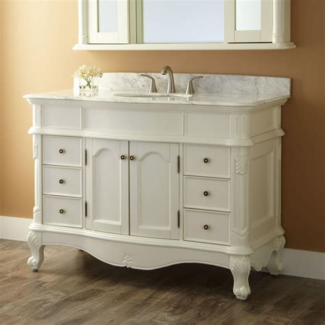 sedwick creamy white vanity bathroom