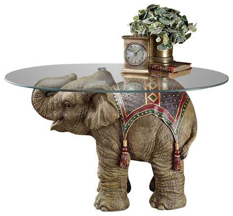 jaipur elephant festival table asian side tables