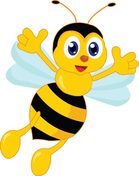 bee clipart png bees clipart best