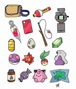 Pokemon Items!!   Pokémon   Pinterest   Pokémon, Anime and ...