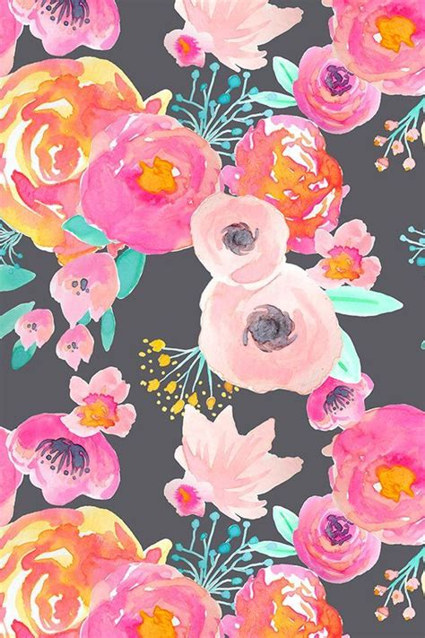 Support us by sharing the content, upvoting wallpapers on the page or sending your. 08aa10ff85bd46371dd7d397b2881b45.jpg (564×846) | Watercolor floral wallpaper