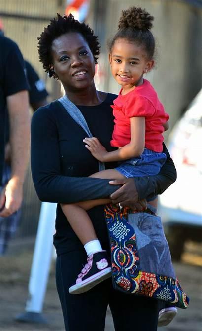 Adopted Celebrities Davis Children Viola Hollywood Splash