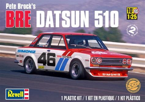 Datsun 510 Kit by Newly Reissued Revell Bre Datsun 510 Racecar Kit Page 3