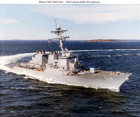 Destroyer Photo Index DDG-58 USS LABOON