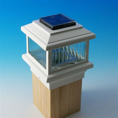 solar deck cap lights solar post caps azek multi level deck with white composite