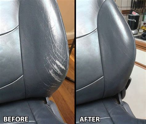 Leather Reconditioning by Leathernu Repair Kit