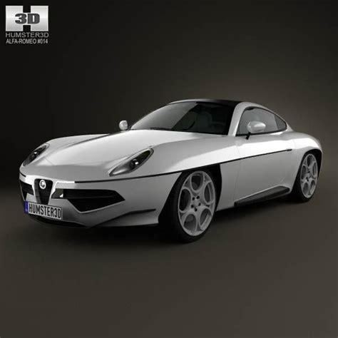 Disco Volante 2012 Price by Alfa Romeo Disco Volante Touring 2013 3d Model From