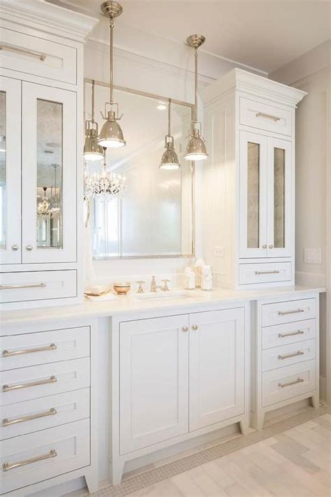 white bathroom cabinet creative ways to incorporate built in cabinetry