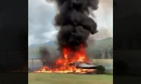 skydiving plane crashes  hawaii killing  people bno