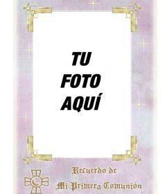 Como Subir Mi Template En by Plantilla Gratis De Recuerdo De Primera Comuni 243 N Marco