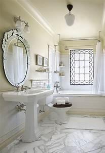le lavabo sur pied est la nouvelle tendance With salle de bain design avec lavabo sur pied