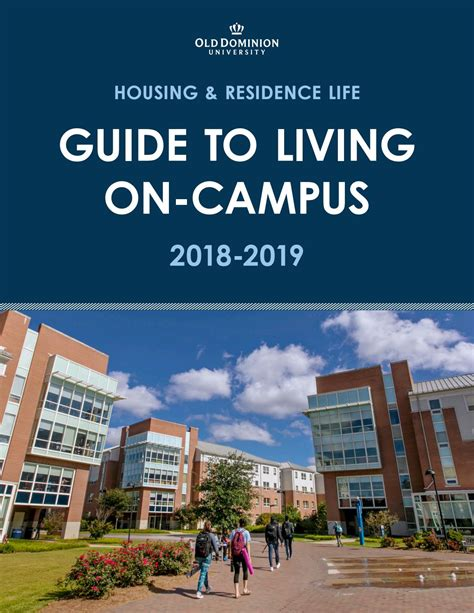 HRL Guide to Living On Campus by ODU Housing - Issuu