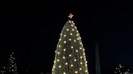 visiting national christmas tree at night mlewallpapers national tree and washington monument at