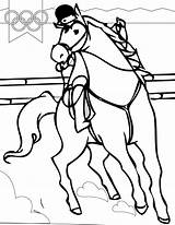 Coloring Sports Pages Horse Riding Summer Olympic Handipoints Arcade Olympics Games Drawing Tickets Template Equestrian Printables Sheets Primarygames Sketch Clipartmag sketch template