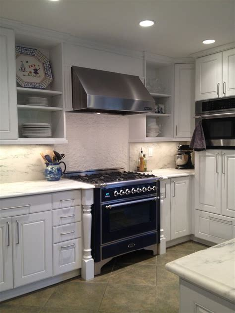 Kitchen Remodel   white marble countertops, stone