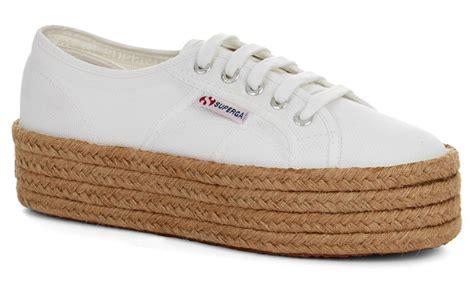 baby shoes size 2 2790 cotrope white superga flatforms superga