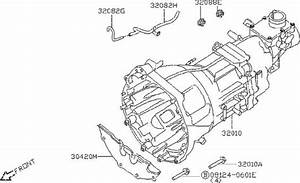 Nissan Frontier Dust Cover Converter Housing  Fitting