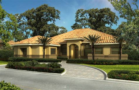 mediterranean house plan 64695 mediterranean mediterranean style house plan 4 beds 3 5 baths 3224 sq Florida