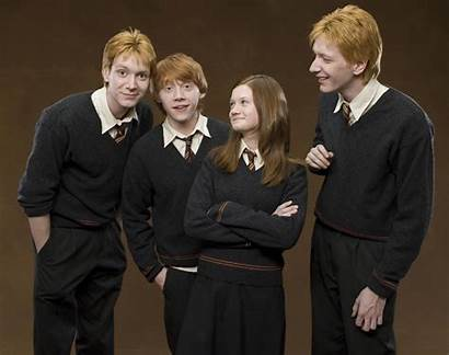 Weasley Ron Potter Harry Fell Times Ginny