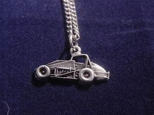 Charmes Automobile : non wing sprint car charm necklace auto racing jewelry ebay ~ Gottalentnigeria.com Avis de Voitures