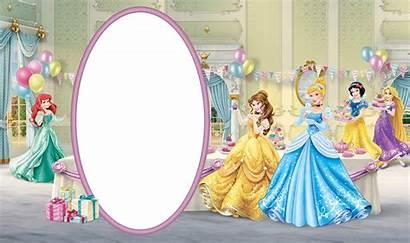 Princess Disney Frame Birthday Transparent Clipart Frames