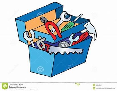 Toolbox Herramientas Cartoon Tools Clipart Containing Caja