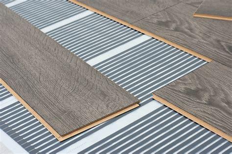 laminate flooring radiant heat warmth underfoot approaching radiant heating installation