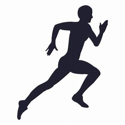Running Silhouette Clip Transparent Athlete Hard Person