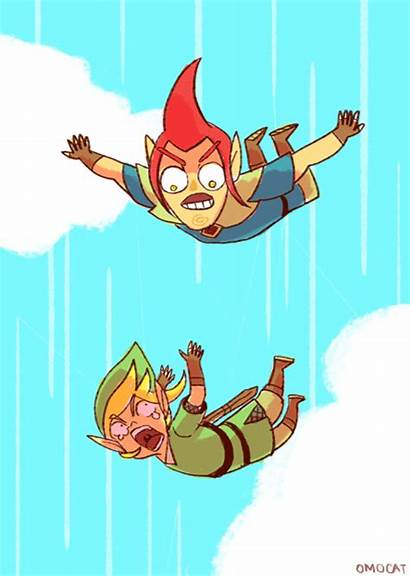 Zelda Legend Sword Skyward Groose Link Funny