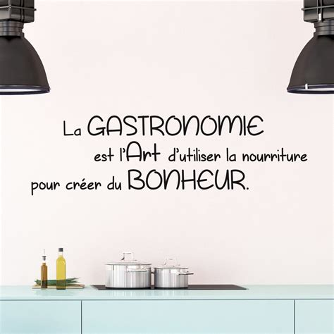 stickers citation cuisine sticker citation cuisine la gastronomie est l 39