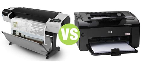 difference  plotter  printer