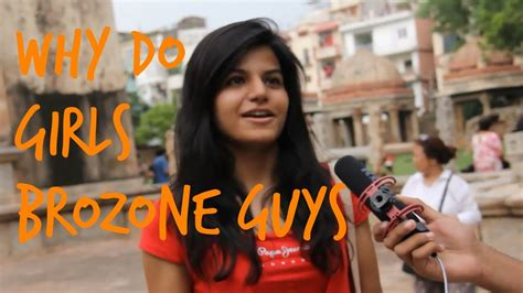 girls brozone guys street interview   teen