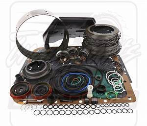 4l60e Transmission Deluxe Overhaul Rebuild Kit 1993