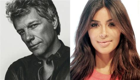 Bon Jovi Puts Kim Kardashian Housewives Blast