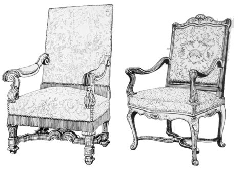 sedia luigi xiv mobili 1 2