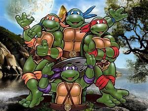 Ninja Turtles Cartoon Desktop Wallpapers | Wallpaper HD ...
