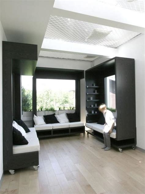 Modern Interior Design for Students with Modular Furniture