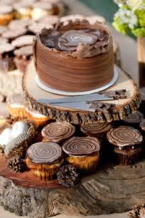 log wedding wood log inspired wedding cake cupcakes best friends for frosting