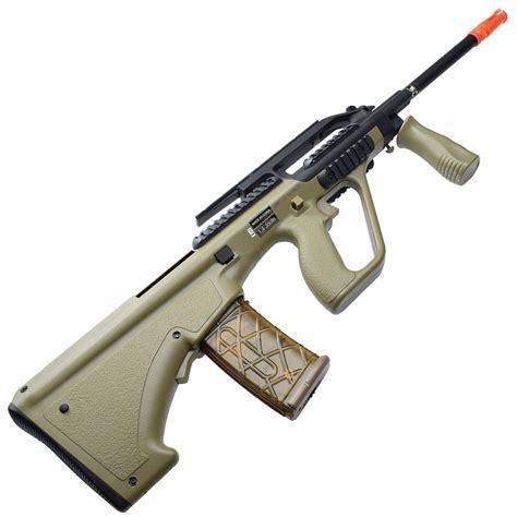 AEG PL Steyr AUG A2 US Version Airsoft Rifle - Tan ...