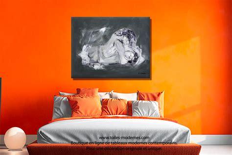 chambre grand format chambre orange et marron
