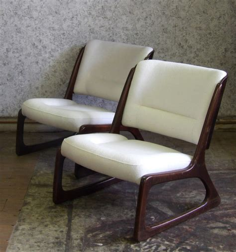 chaise traineau baumann du chic et du retro artisan tapissier avant après