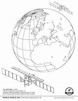 Coloring Satellite Space Missions Ekaterina Smirnova Sentinel Earth Juno Getdrawings sketch template