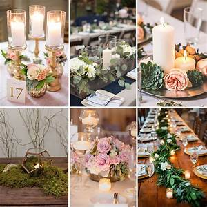 10, Centerpieces, Ideas, With, Candles