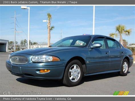 2001 Buick Lesabre Custom by Titanium Blue Metallic 2001 Buick Lesabre Custom Taupe