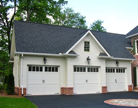 Colonial Style Garage Apartment  29859rl Architectural