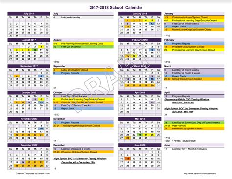 calendar review meriwether county school system