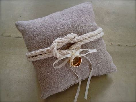 linen wedding ring pillow nautical by eandaheritage etsy 38 00 blair and andrew wedding