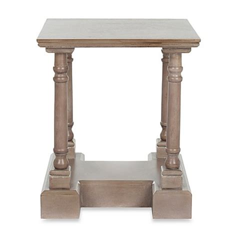 bed bath and beyond side table buy wood end tables from bed bath beyond