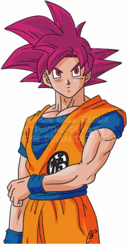 Goku Gods Battle Saiyan God Super Deviantart